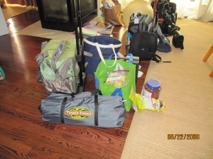 Just a fraction of our gear