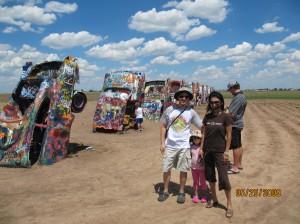 Car Henge, near Amarillo, Tx