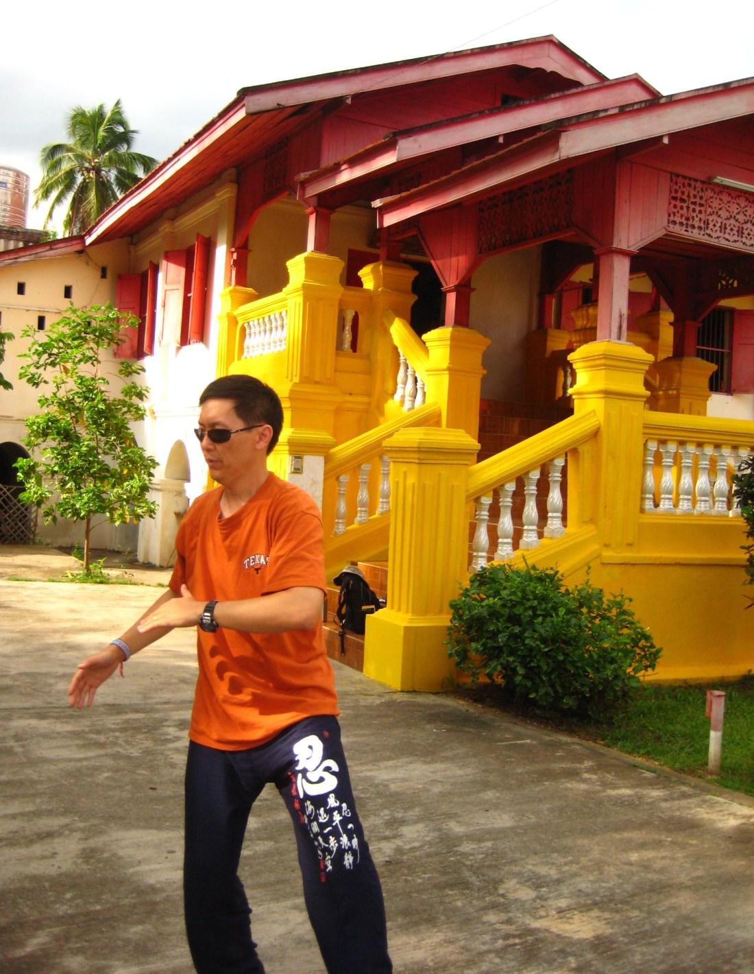 Burmese Buddhist Temple, Chiang Mai, Thailand Summer 2009