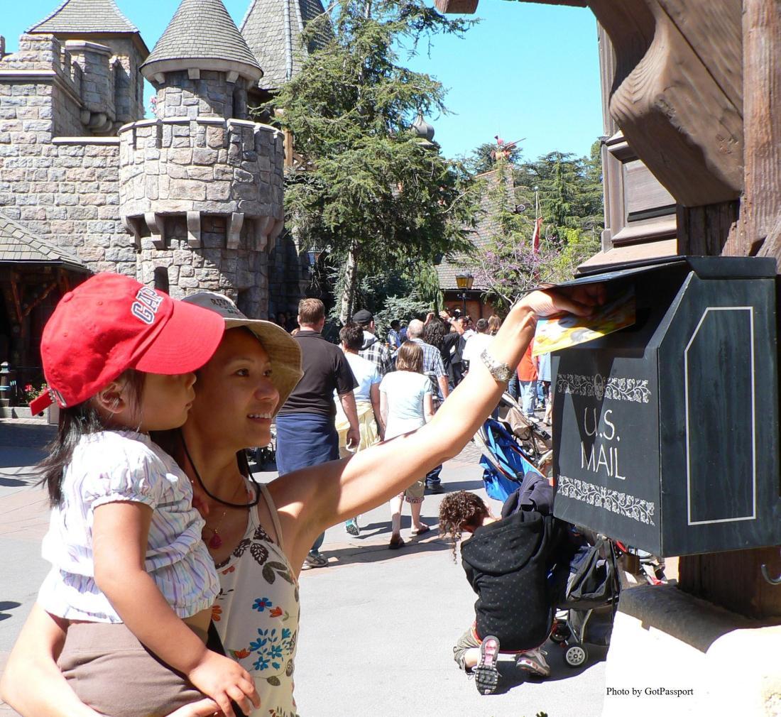 Disneyland, Anaheim, California 2008