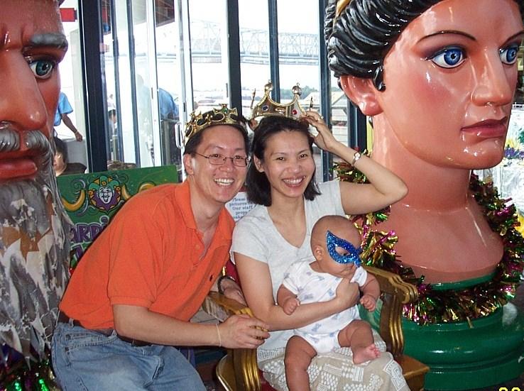 At a souvenir shop in New Orleans 2003